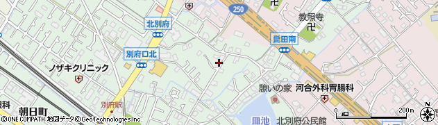 兵庫県加古川市別府町(別府)周辺の地図