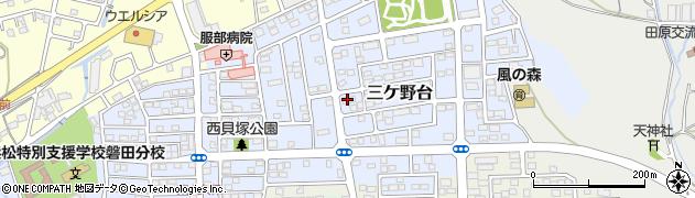 きっちんまひる周辺の地図