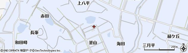 愛知県南知多町(知多郡)大井(釜山)周辺の地図