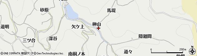 愛知県南知多町(知多郡)内海(榊山)周辺の地図
