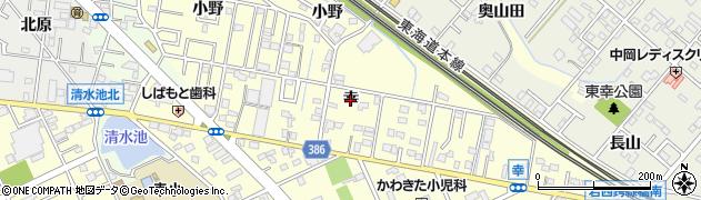 愛知県豊橋市西幸町(幸)周辺の地図