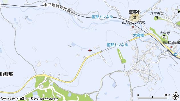 〒651-1104 兵庫県神戸市北区山田町藍那の地図