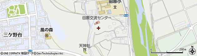 静岡県磐田市三ケ野周辺の地図