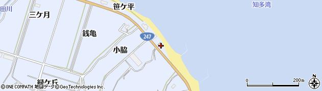 愛知県南知多町(知多郡)大井(小海田)周辺の地図