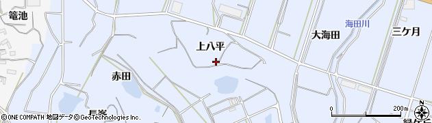愛知県南知多町(知多郡)大井(上八平)周辺の地図