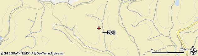 愛知県南知多町(知多郡)山海(一反畑)周辺の地図