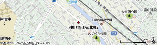 兵庫県加古川市別府町新野辺北町周辺の地図