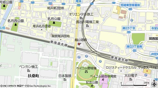 〒661-0978 兵庫県尼崎市久々知西町の地図