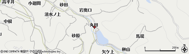 愛知県南知多町(知多郡)内海(丸田)周辺の地図
