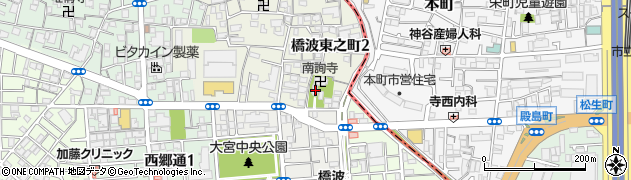 天乃神社周辺の地図