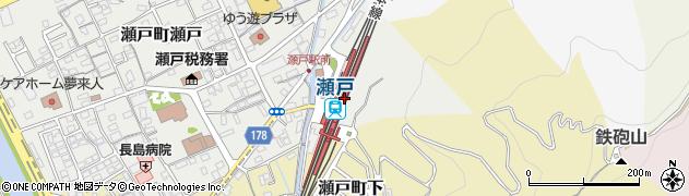 岡山県岡山市東区周辺の地図