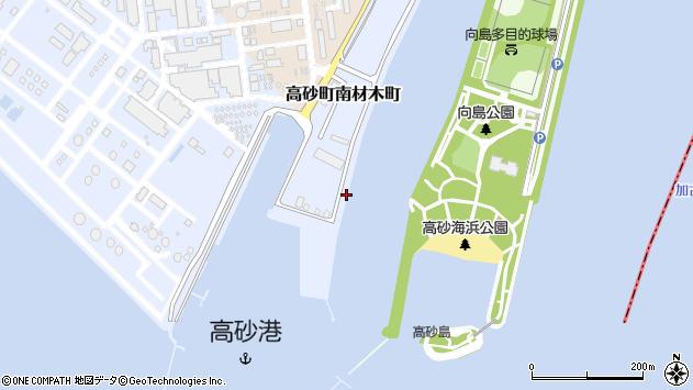 〒676-0044 兵庫県高砂市高砂町南材木町の地図
