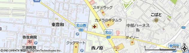 ハセガワ周辺の地図
