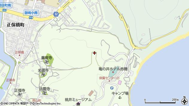 〒678-0215 兵庫県赤穂市御崎の地図