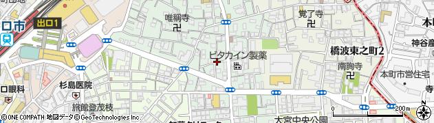 大阪府守口市橋波西之町周辺の地図