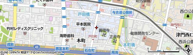 串焼きホルモン ドラムKAN周辺の地図