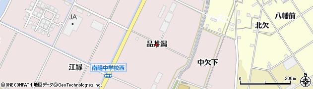 愛知県豊橋市神野新田町(品井潟)周辺の地図