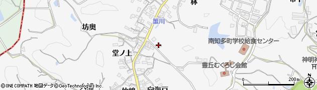 愛知県南知多町(知多郡)豊丘(木ノ下)周辺の地図