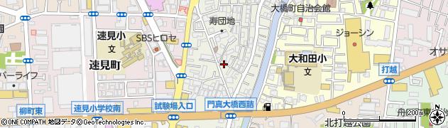 大阪府門真市寿町周辺の地図