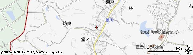 愛知県南知多町(知多郡)豊丘(堂ノ上)周辺の地図