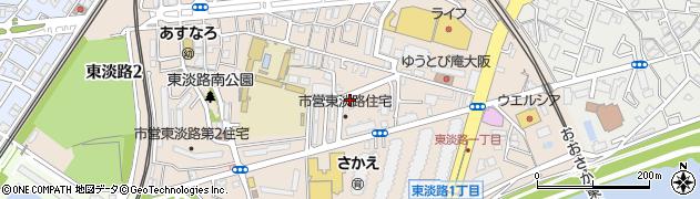 東淡路住宅周辺の地図