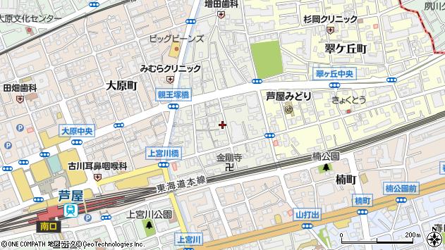 〒659-0016 兵庫県芦屋市親王塚町の地図