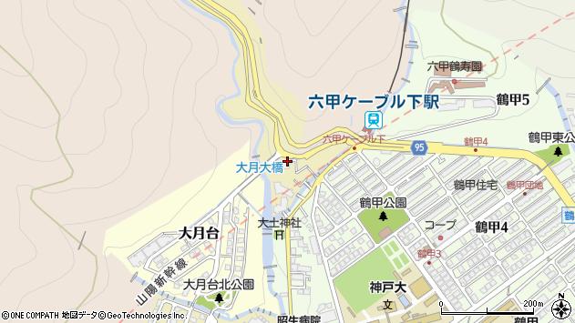 〒657-0018 兵庫県神戸市灘区水車新田の地図