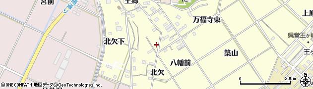 愛知県豊橋市王ヶ崎町周辺の地図