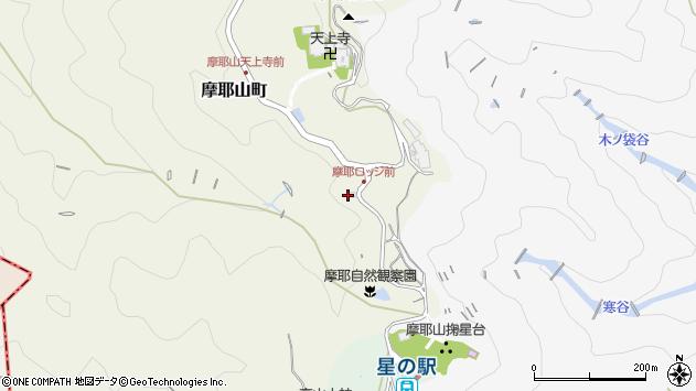 〒657-0105 兵庫県神戸市灘区摩耶山町の地図