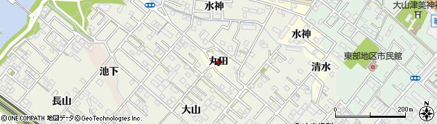 愛知県豊橋市高師町(丸田)周辺の地図