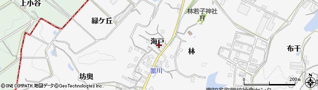 愛知県南知多町(知多郡)豊丘(海戸)周辺の地図