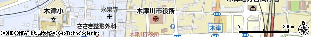 京都府木津川市周辺の地図