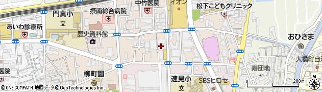 大阪府門真市末広町周辺の地図