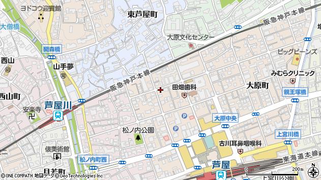 〒659-0093 兵庫県芦屋市船戸町の地図