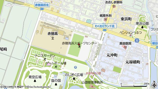 〒678-0225 兵庫県赤穂市海浜町の地図