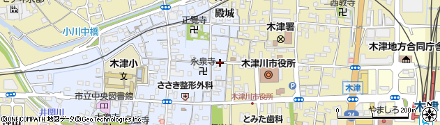 京都府木津川市木津町(南垣外)周辺の地図