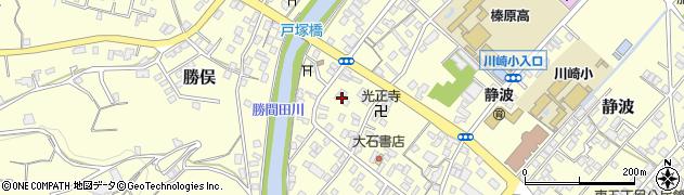 静岡県牧之原市静波静波3丁目周辺の地図