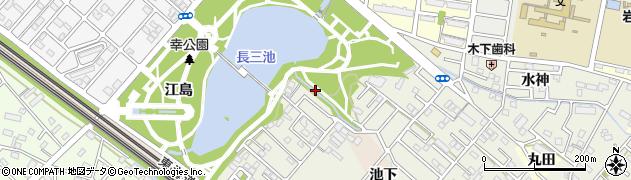 愛知県豊橋市佐藤町周辺の地図