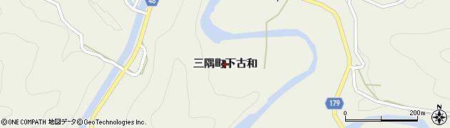 島根県浜田市三隅町下古和周辺の地図