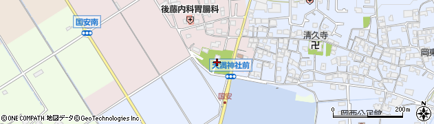 天満神社周辺の地図