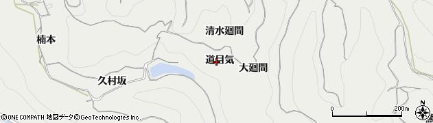 愛知県南知多町(知多郡)内海(道目気)周辺の地図