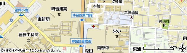 愛知県豊橋市町畑町周辺の地図