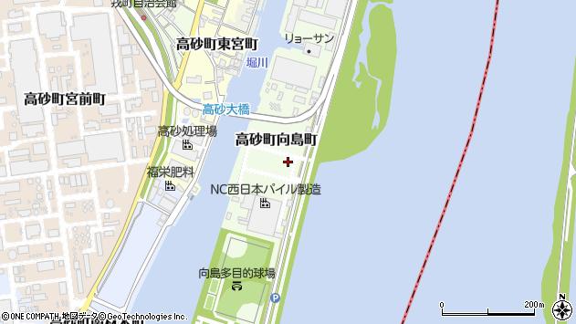 〒676-0031 兵庫県高砂市高砂町向島町の地図