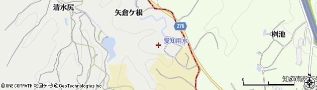愛知県南知多町(知多郡)内海(矢倉ケ根)周辺の地図