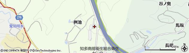 愛知県美浜町(知多郡)古布(桝池)周辺の地図