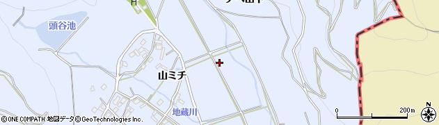 愛知県豊橋市雲谷町周辺の地図