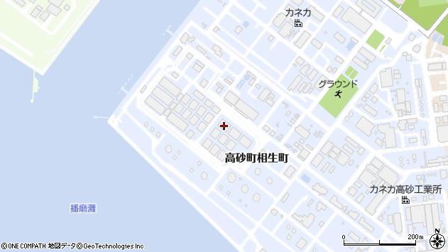 〒676-0028 兵庫県高砂市高砂町相生町の地図
