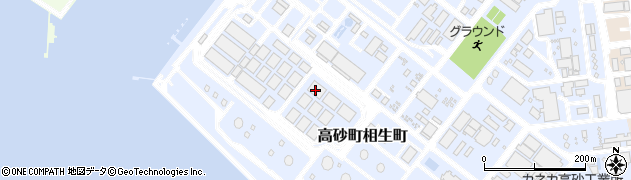 兵庫県高砂市高砂町相生町周辺の地図