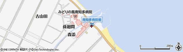愛知県南知多町(知多郡)豊丘(東浜)周辺の地図