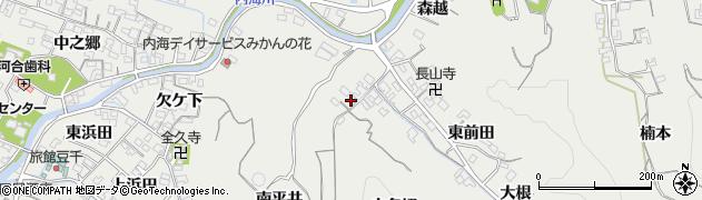 愛知県南知多町(知多郡)内海(小名切)周辺の地図